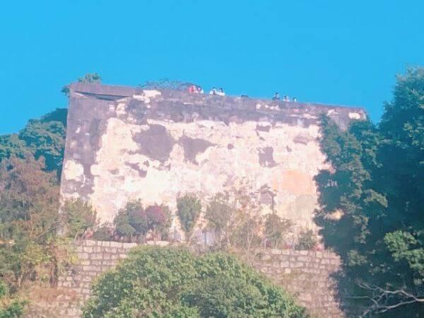 マカオ 世界遺産 モンテの砦 要塞