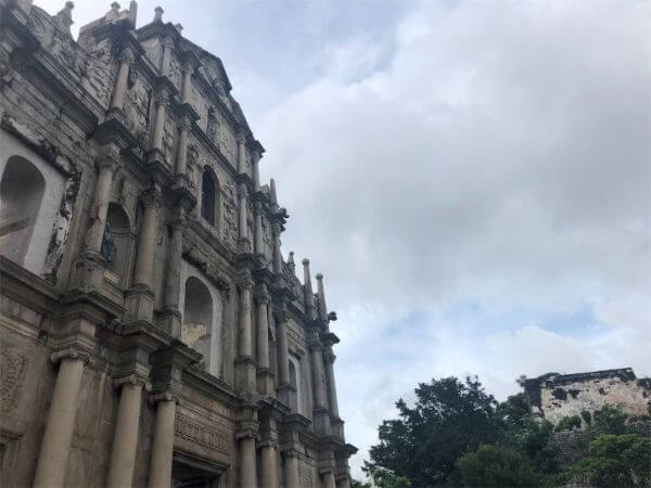 聖ポール天主堂跡 マカオ