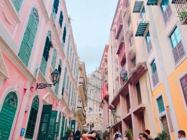 マカオ 恋愛巷