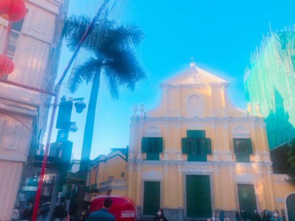 マカオ世界遺産 聖ドミニコ教会