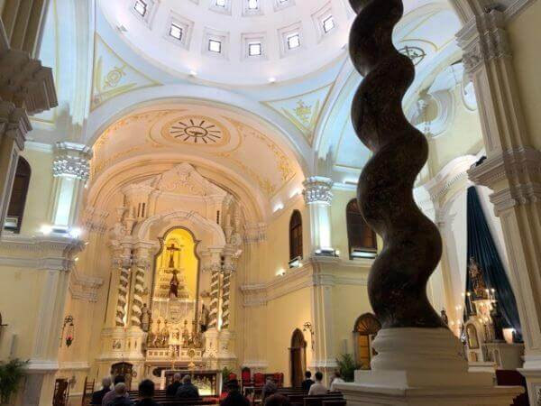 マカオ世界遺産 聖ジョセフ聖堂