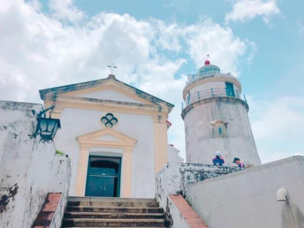 マカオ世界遺産 ギア灯台 聖母礼拝堂