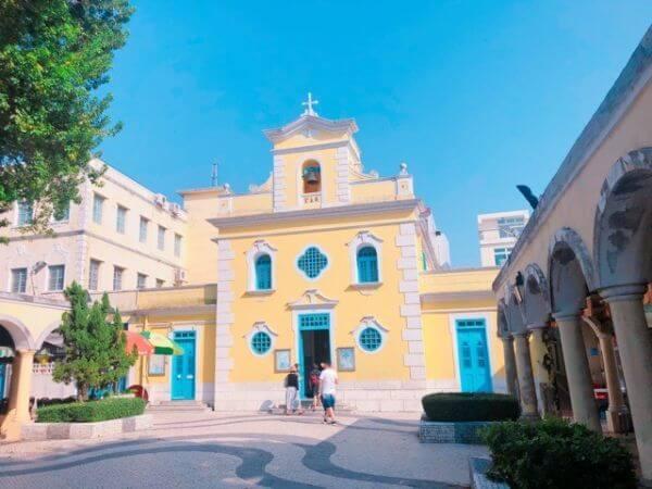マカオ 聖フランシスコ・ザビエル教会