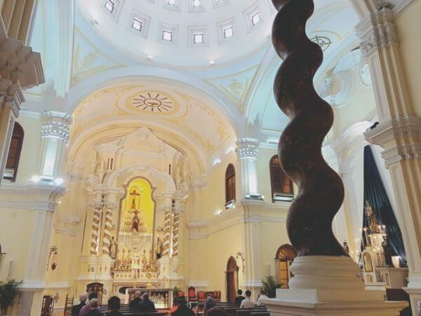マカオ 聖ヨセフ修道院および聖堂