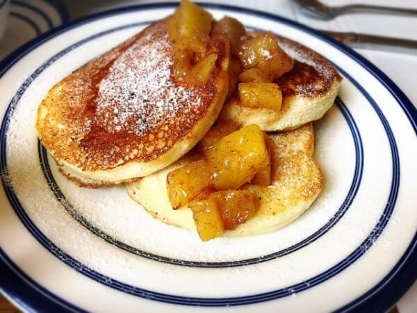 グランドラパ 朝食 パンケーキ