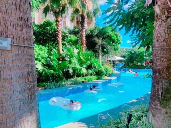 マカオ 世界最長 流れるプール