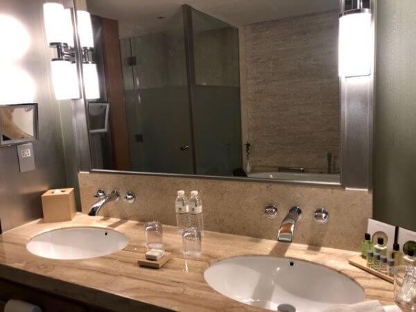 マカオ ホテルオークラ バスルーム