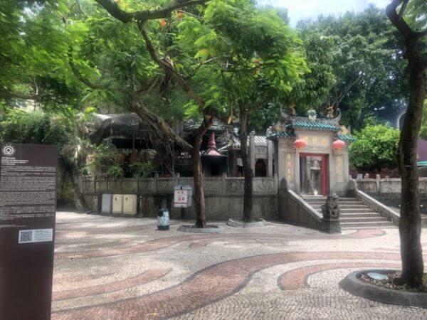 媽閣廟 マカオ