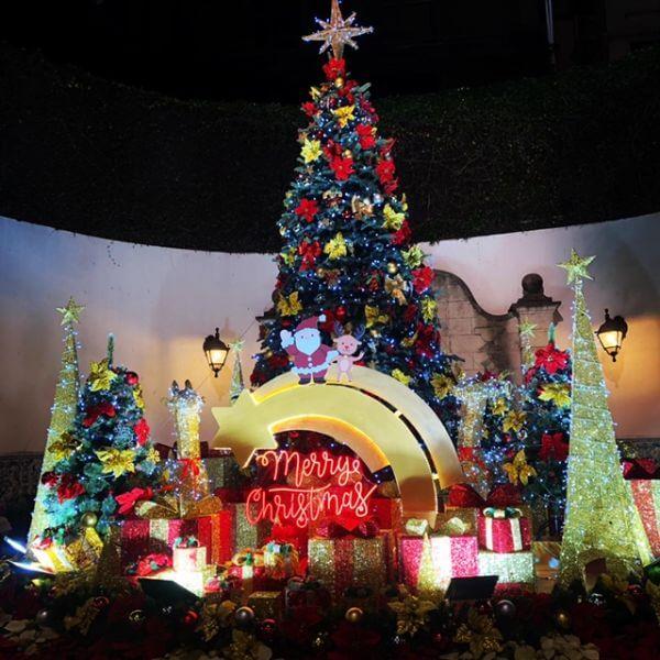 マカオ クリスマス 世界遺産