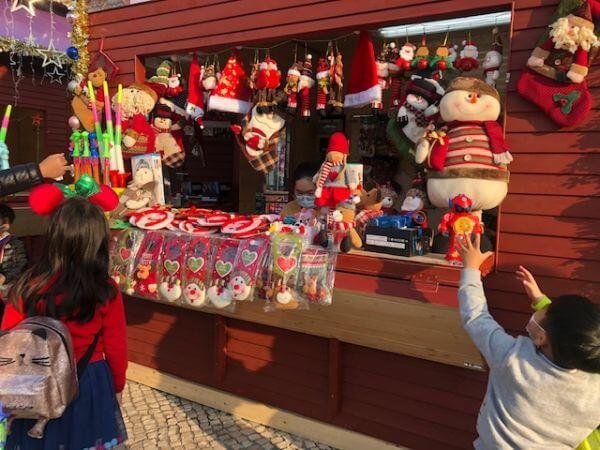 マカオ クリスマスマーケット