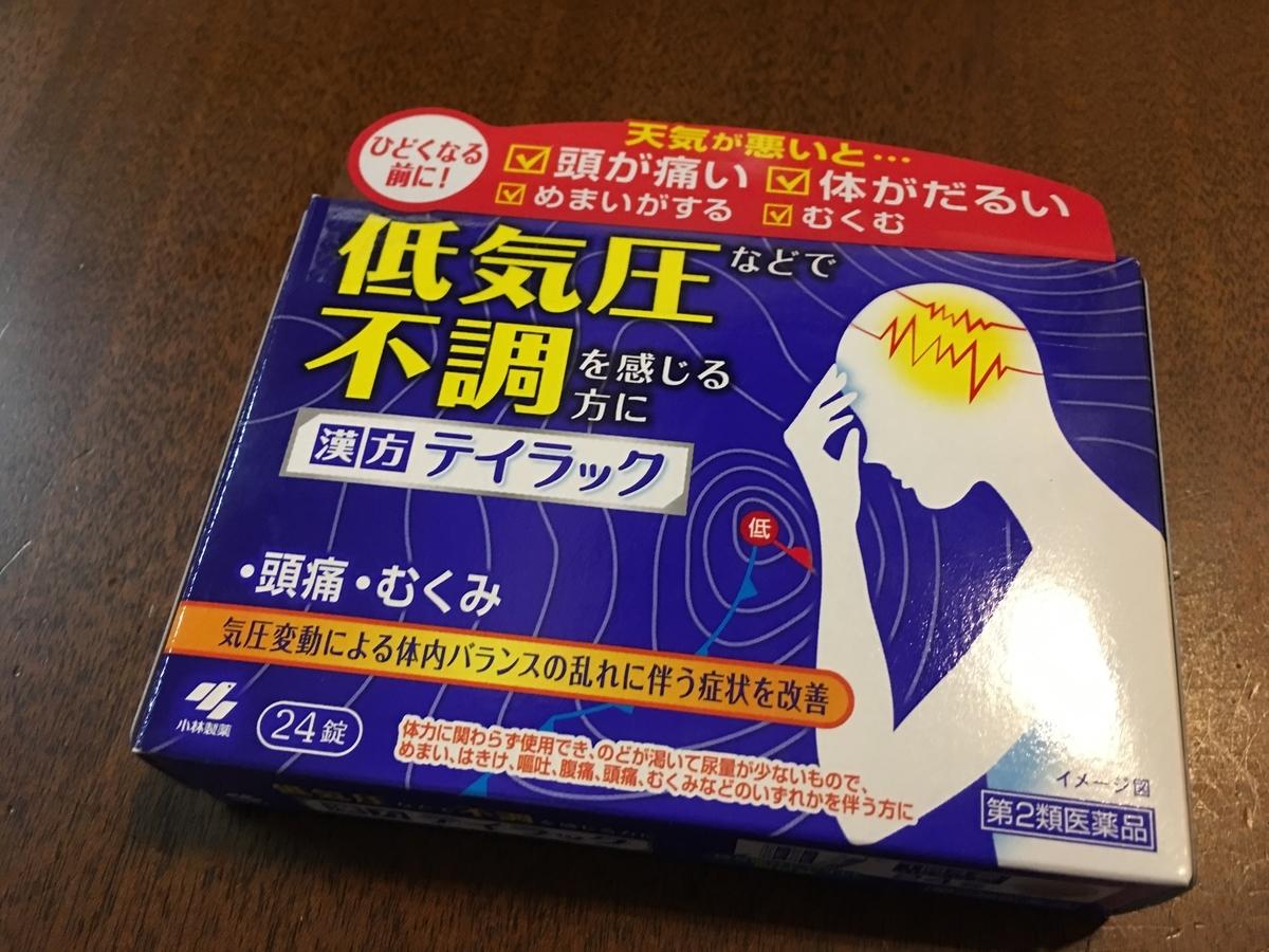 気圧 頭痛 薬