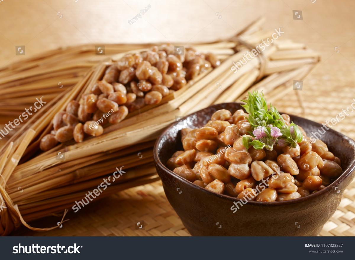 納豆, fermented beans, Natto