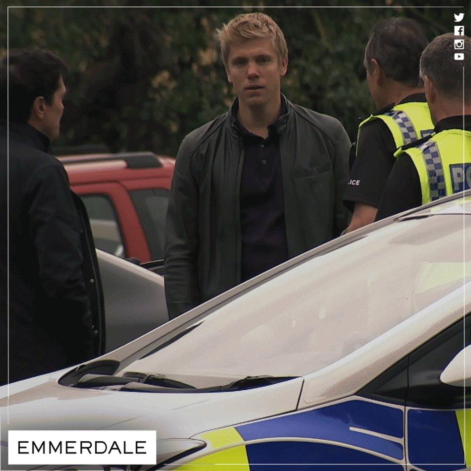 ITV, Emmerdale, Robert arrested,Robron