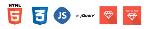 HTML-CSS-JS-JQuery-Ruby-Ruby-on-rail