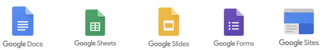 google-docs-google-sheets-google-slides-google-forms-google-sites