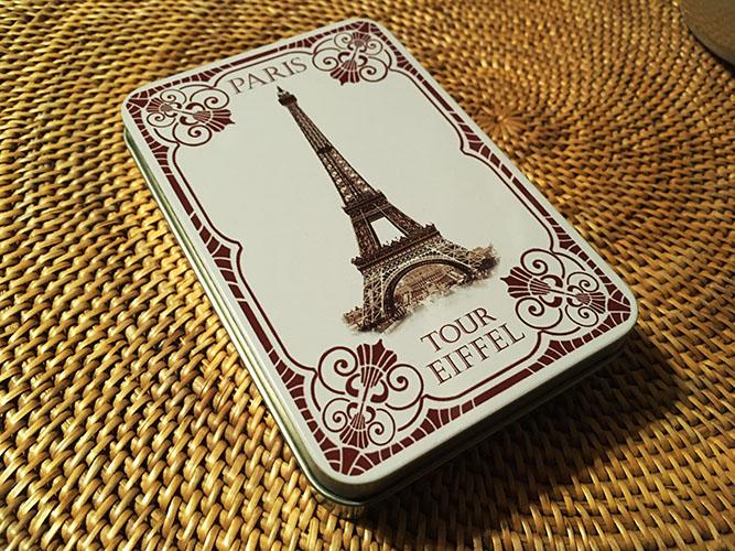 パリで購入した石鹸(の入れ物)