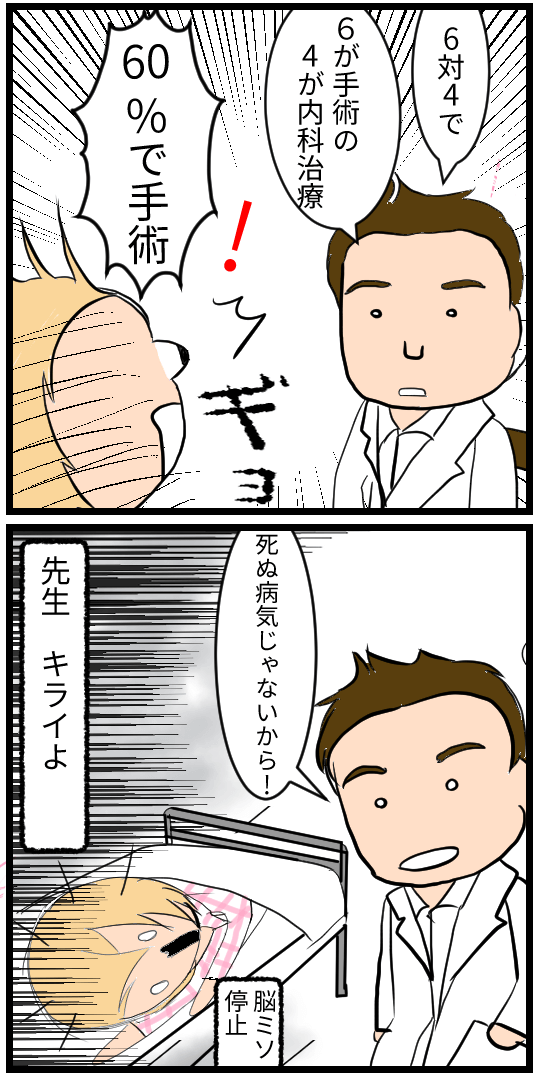手術の可能性