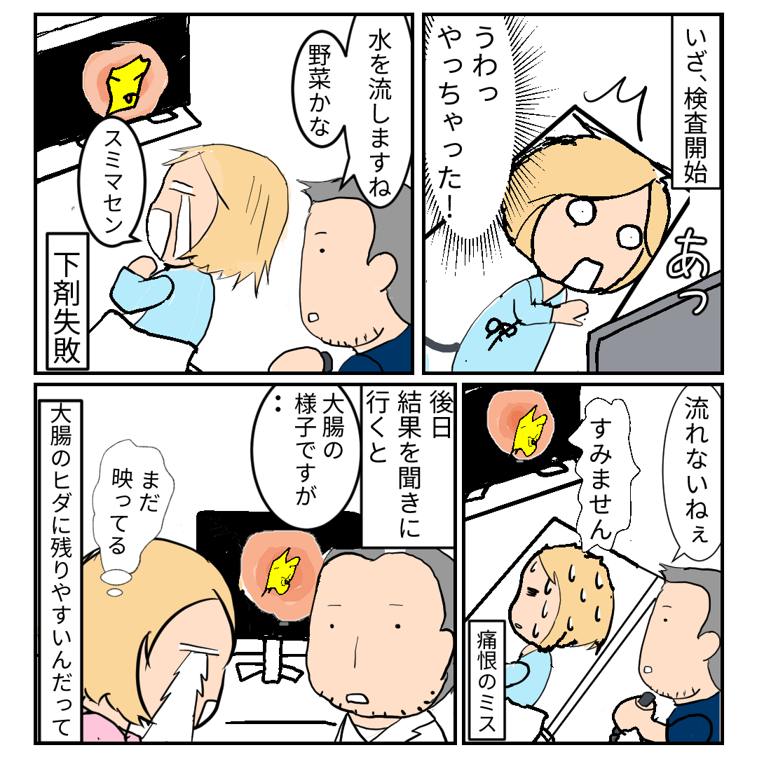 大腸カメラ 診断