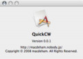[Mac][CW]QuickCW