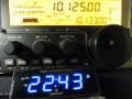 LED発光表示デジタル電波時計