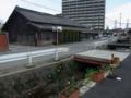 [街道][水路]染物屋と水路