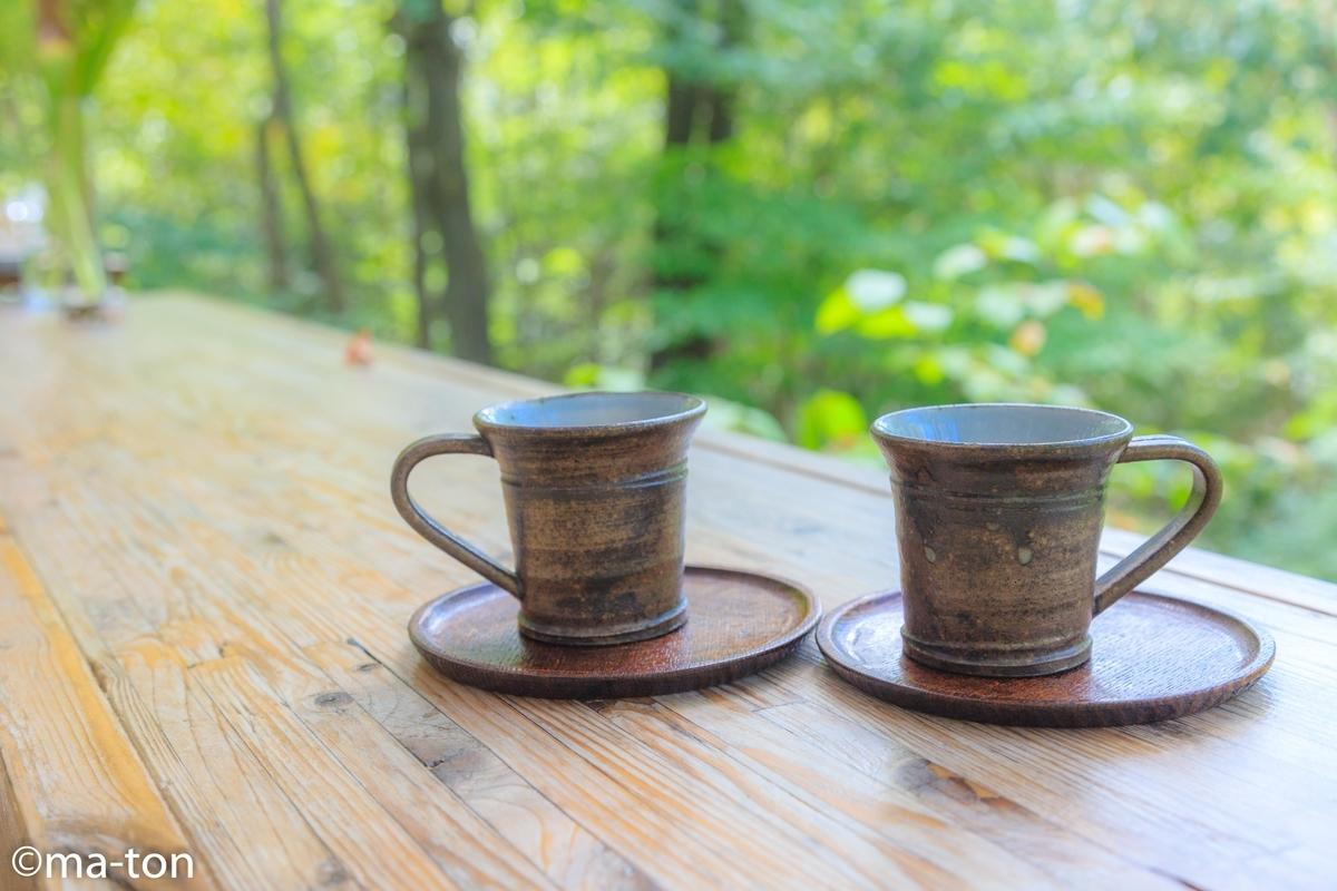 pain de musha musha and coffee