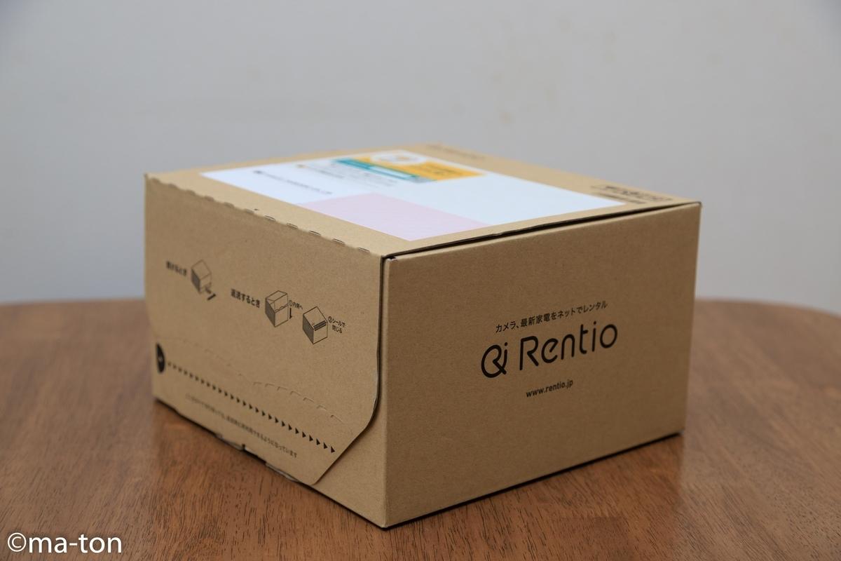 レンティオ Rentio カメラ レンタル