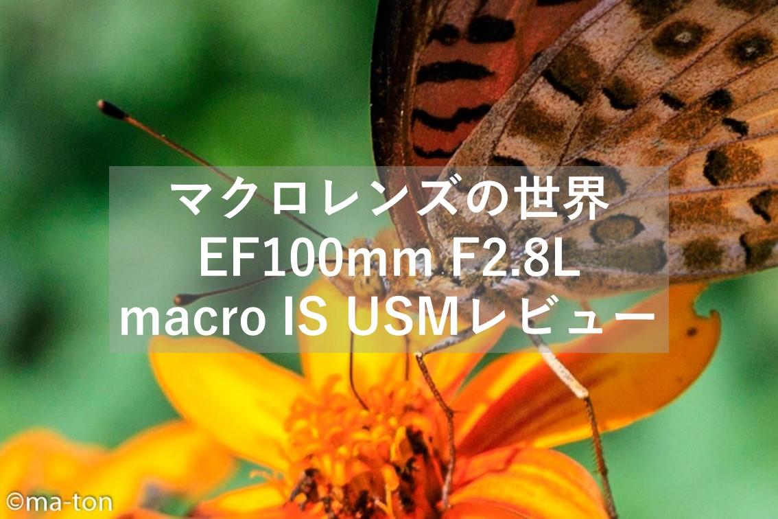 EF100mm F2.8L macro IS USM マクロレンズ