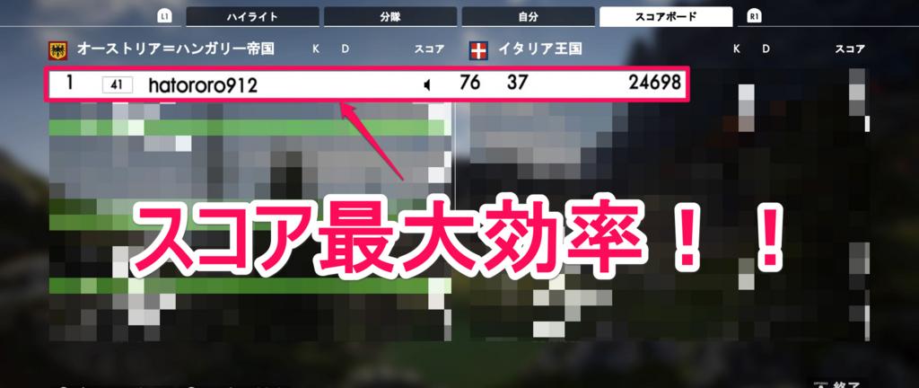 【検証】BF1のランク上げで一番効率の良いモードはコレだった!【PS4】