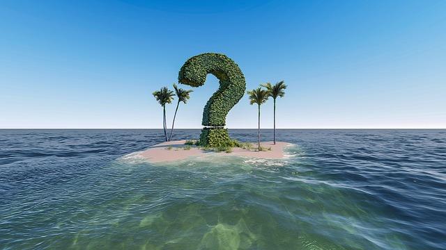 よくある質問の島