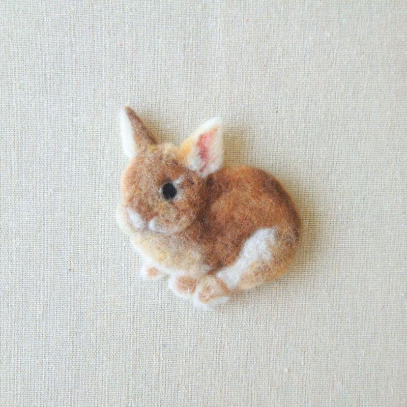 [羊毛フェルト][ねこ][うさぎ][文鳥][インコ]