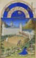 Très Riches Heures du duc de Berry Folio 7, verso: July