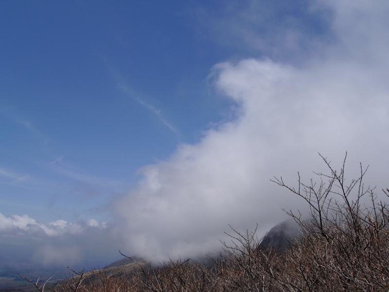 山の天気の画像