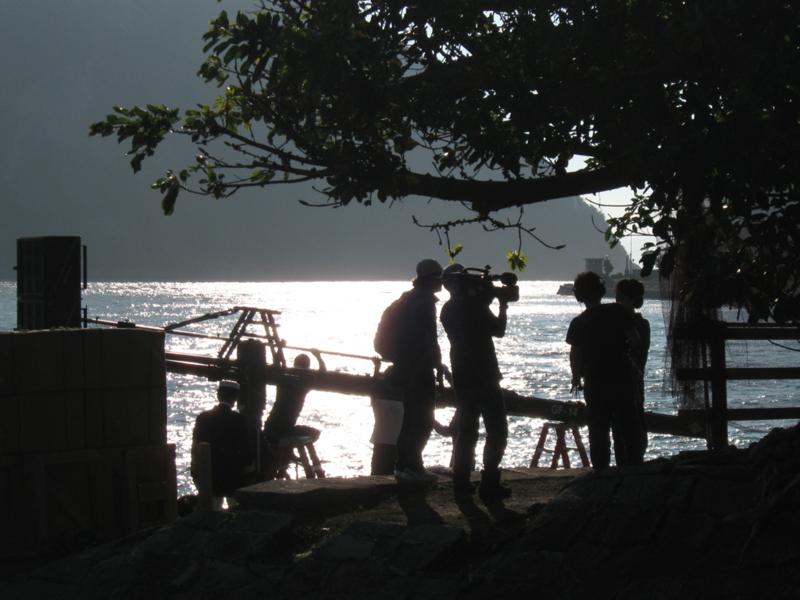 ドラマ撮影の画像