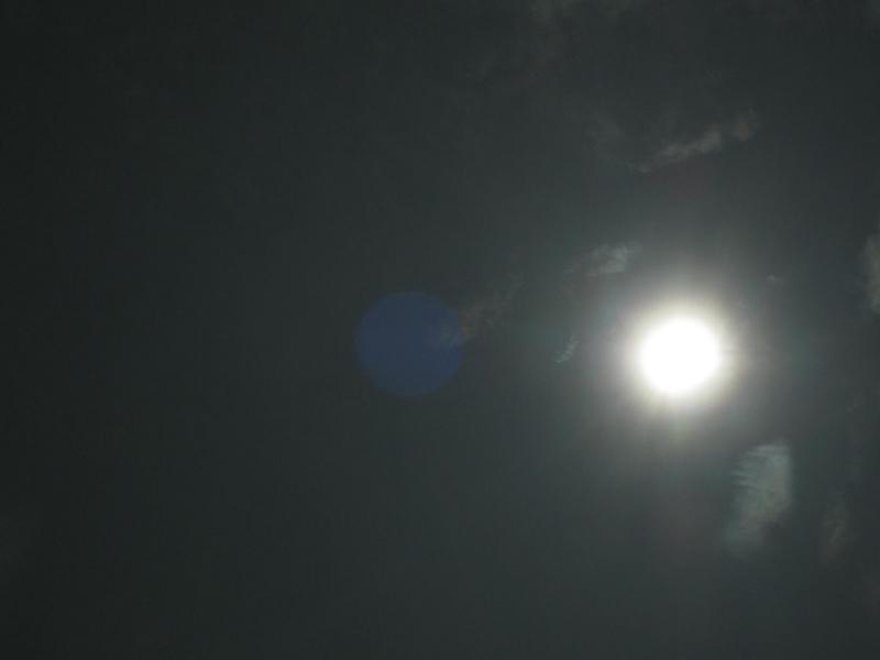 太陽と月の関係の画像