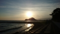 駿河湾に沈む夕日🌅
