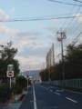 会社の前の通りww