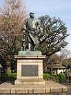 上野公園の西郷銅像1