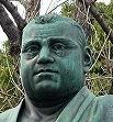 上野公園の西郷銅像2