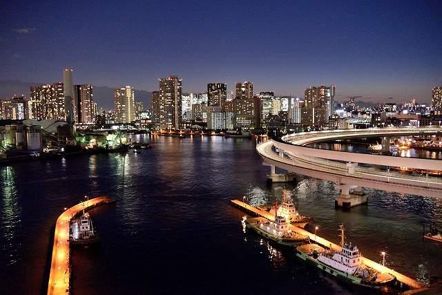 東京の夜景