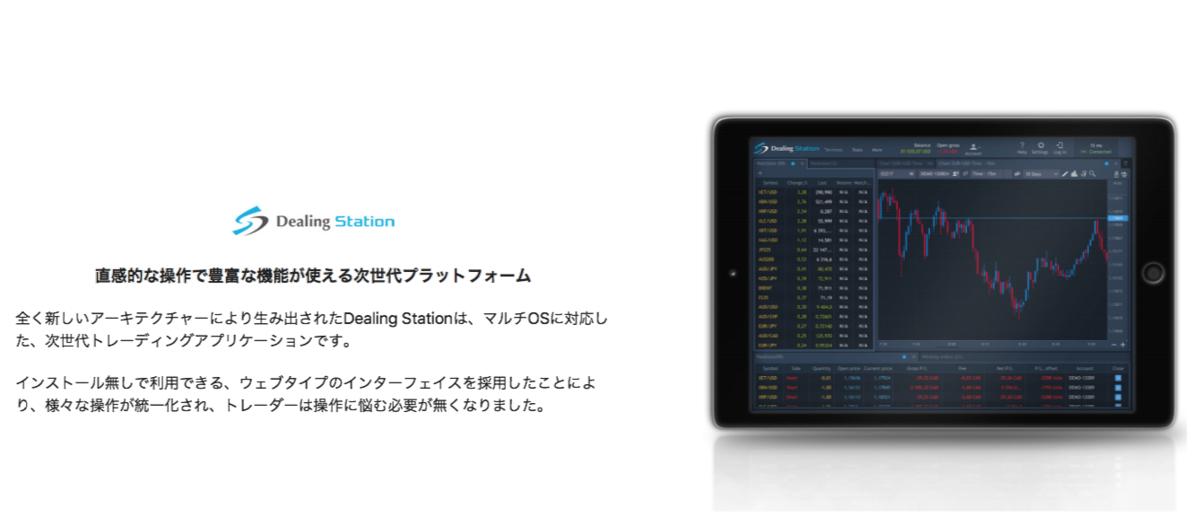 DealFXのDealing Station