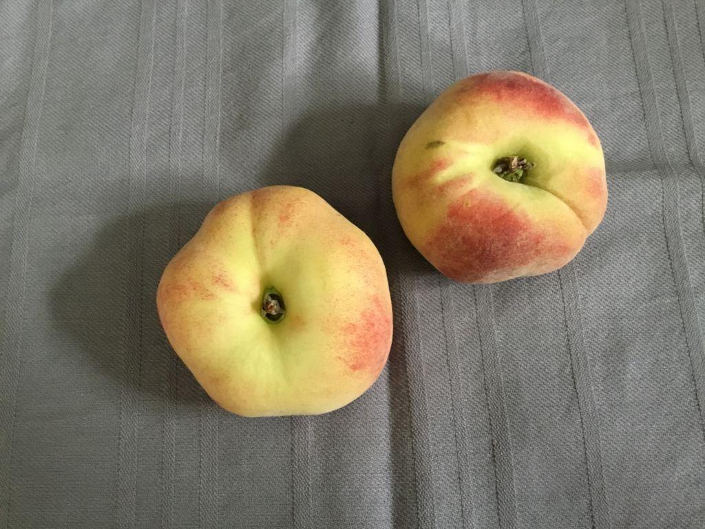 固い桃を柔らかく追熟する2つの方法