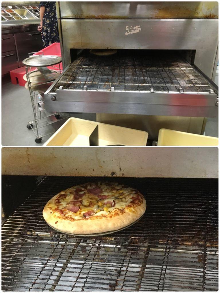 ドミノピザでピザ作り体験