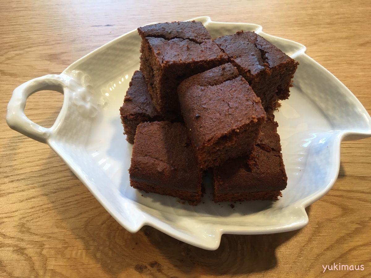 砂糖なしでチョコレートケーキ