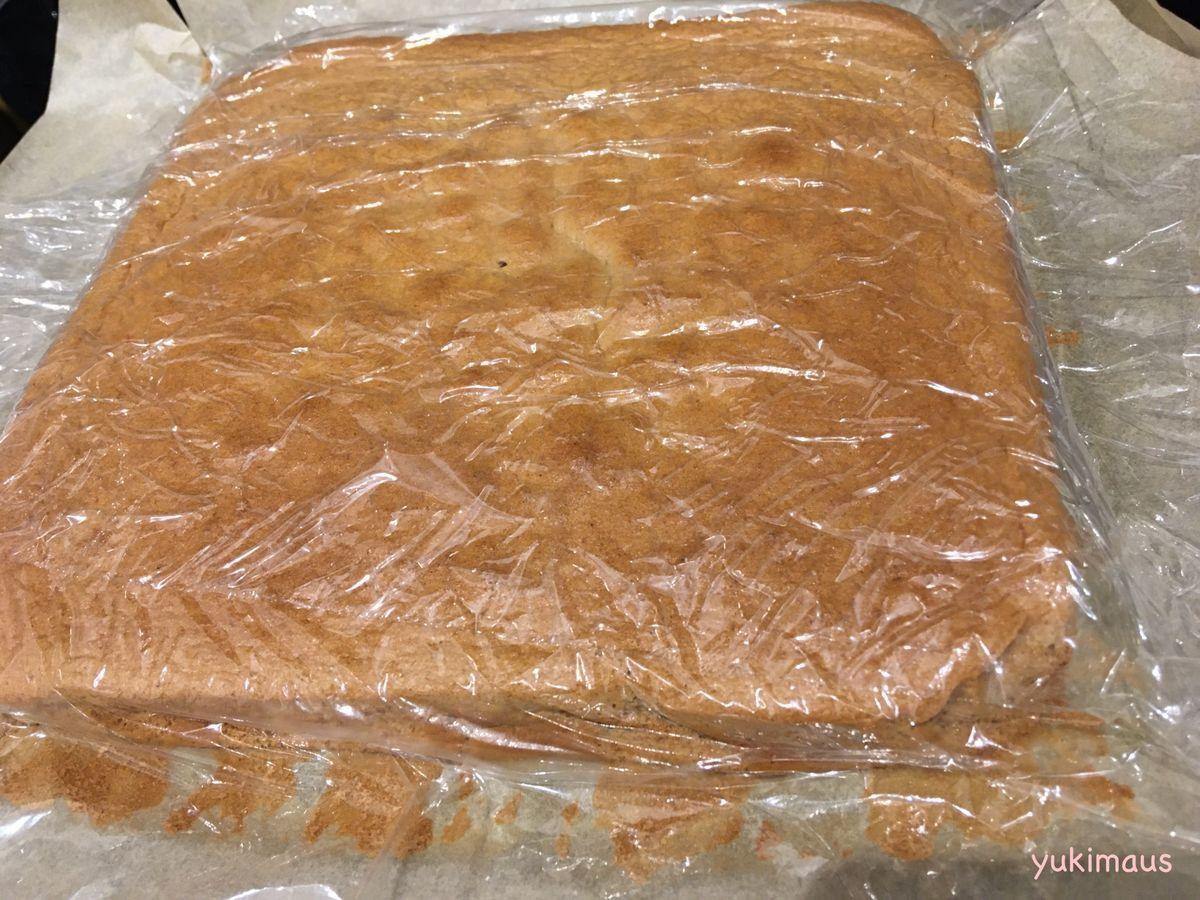 砂糖なしレシピはちみつでチョコレートシフォンケーキ