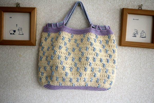 ダイヤ模様のバッグ
