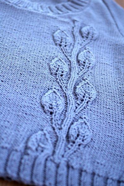 phildar 葉っぱのセーター