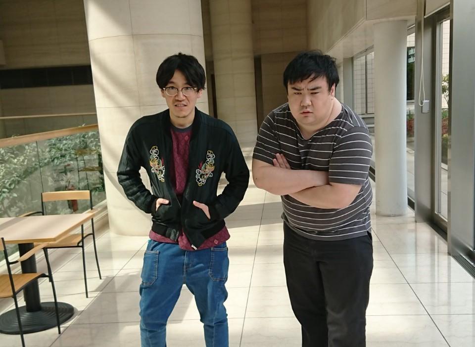 K山さんとフジカワさん