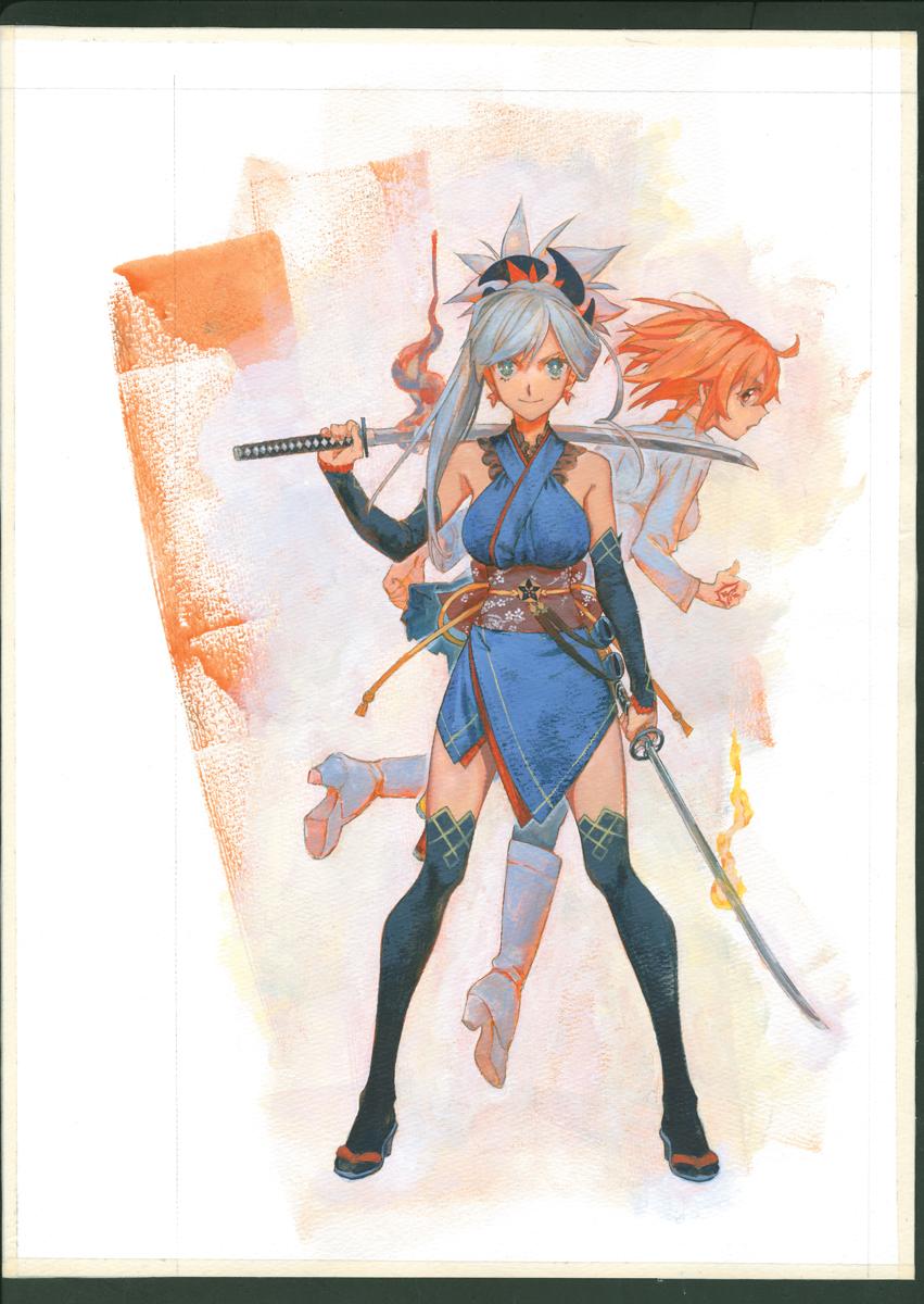 FGOの壁紙をプレゼント! 『英霊剣豪七番勝負』、1巻発売記念キャンペーン