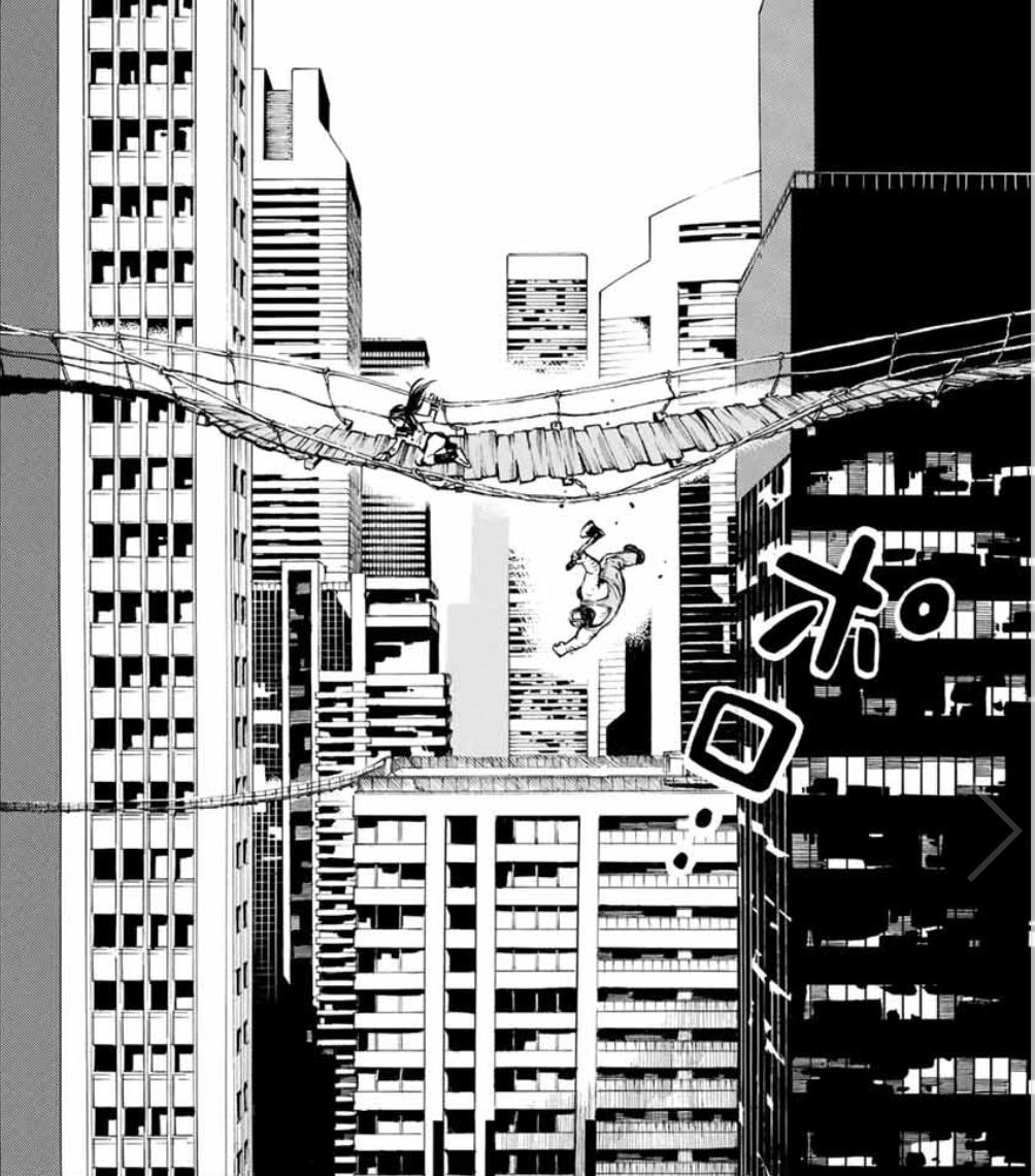 続編スタート! 高層ビル上層で戦うデスバトル『天空侵犯』、ポロリもあるよ